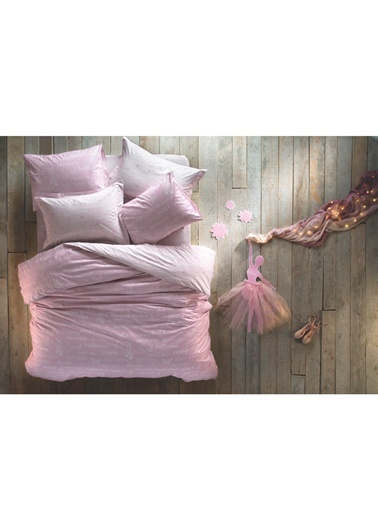 Pirouette In A Pink Çift Kişilik Nevresim Takımı-Hibboux by Yataş